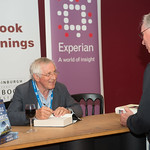 Jonathan Dimbleby | The political commentator and broadcaster signs copies of his new book, The Battle of the Atlantic © Alan McCredie