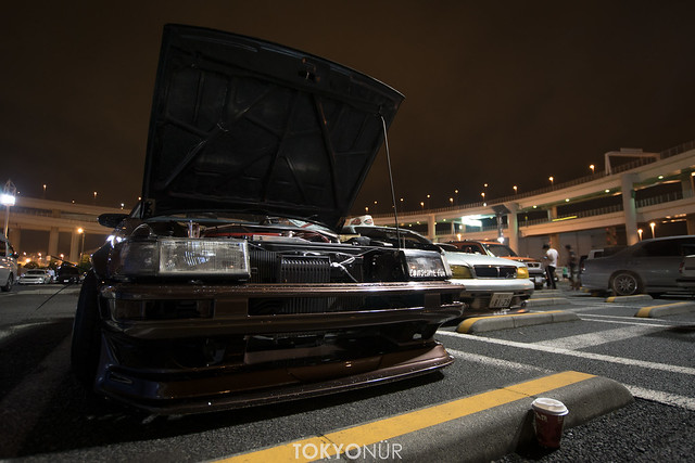 Team Freee's x Lowbrain Racing x 極東SKILLZ Meet ups at Daikoku P.A