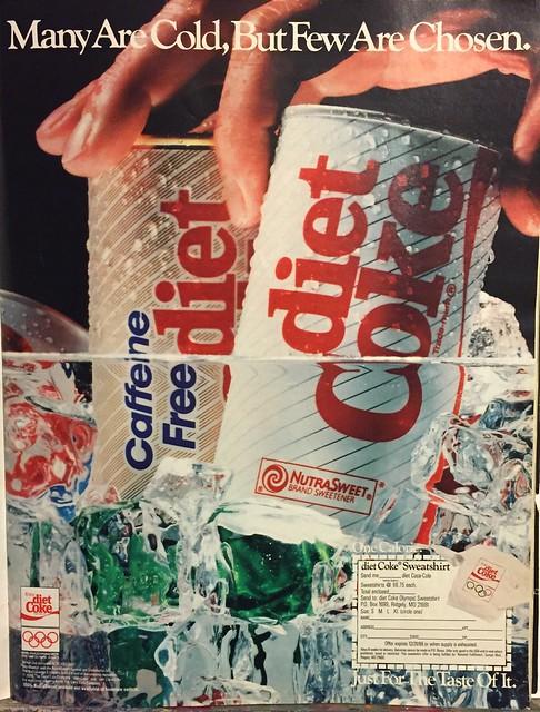 Diet Coke ad 1988