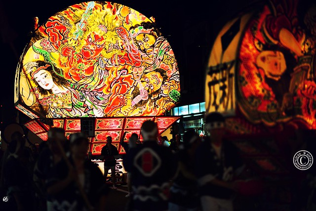 Neputa Festival Dotemachi. (Hirosaki Japan). © Glenn Waters.  . Explored