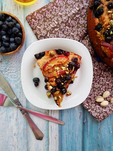 blueberry nectarine pistachio