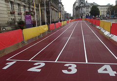Victoria Square, Birmingham - athletics track - Start