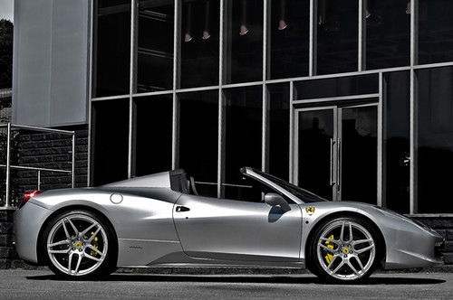 Ferrari 458 Spider gets an elegant makeover by Kahn
