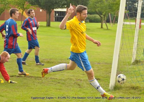 Cliffe FC 8 - 1 Eggborough Eagles (Pre-Season 12/13)