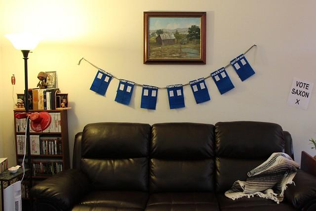 21. TARDIS Banner
