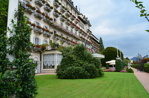 The Grounds of The Grand at Stresa, Lake Maggiore