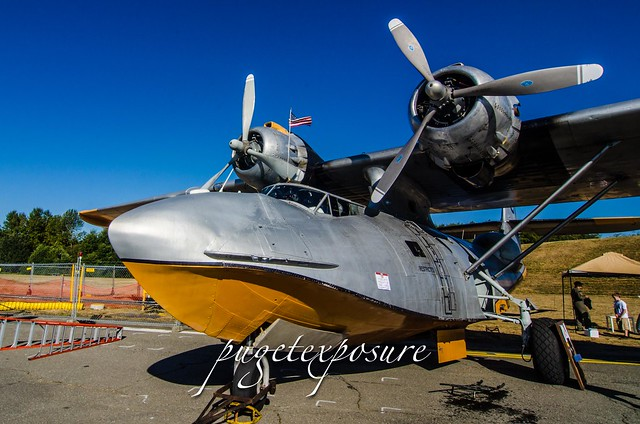 Consolidated PBY-6A 'Catalina'  PBY-6A S/N 64041, N85U, tanker 85, built in '45