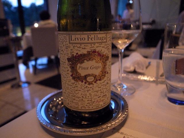 <p>f)白ワイン!コレ私好みです。</p>