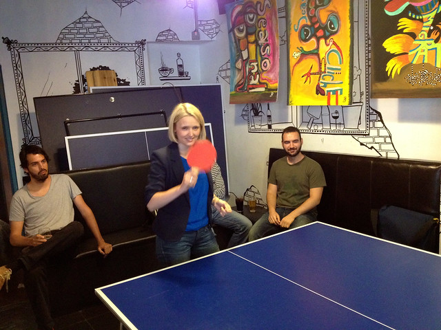 On Device Research pingpong battle