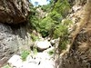 Remontée du haut-Velacu : le ravin au-dessus de la cascade de 30m