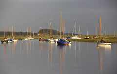 Bring Back an Oldie - 30 Aug 2012 - Masts at Burnham Overy Staithe, Norfolk