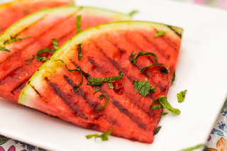 Spicy Grilled Watermelon