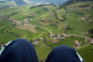 The view over Alpe di Siusi