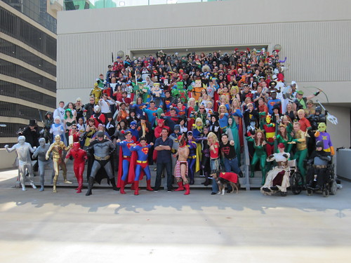 DC Comics Photo Shoot at DragonCon 2012