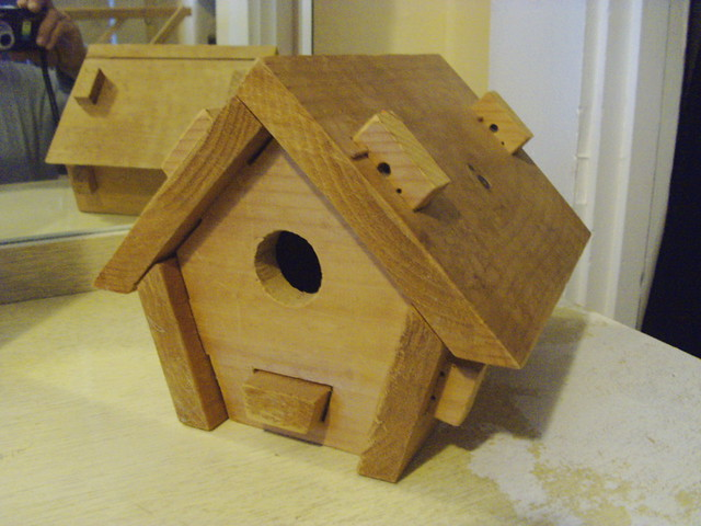 Bird House made in 2000...