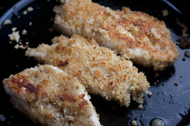 bread crumbs chicken