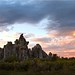 Sunset on the Tufa by Jill Clardy