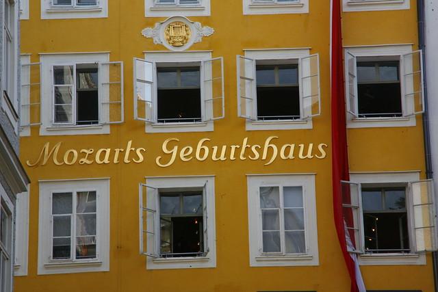 mozart's geburthaus