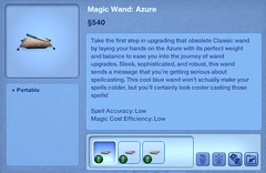 Magic Wand - Azure