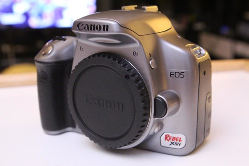 Retired Canon EOS Rebel Xsi
