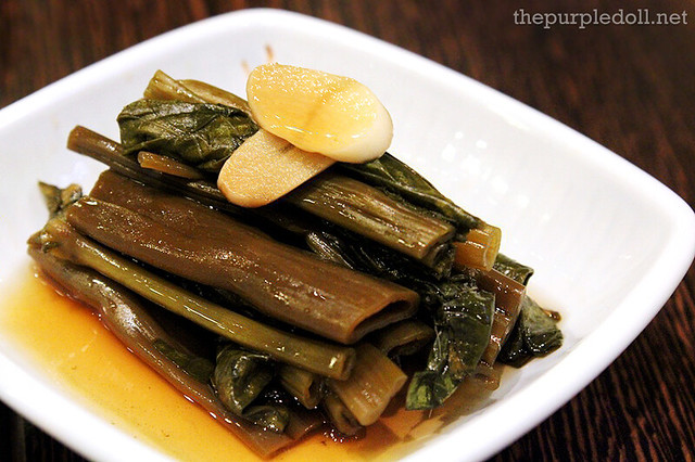 Pickled Kangkong