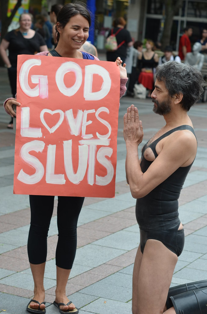 God Loves Sluts - Slutwalk 2012 Seattle Washington