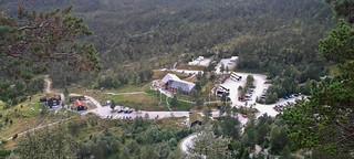 Preikestolhytta. view from above