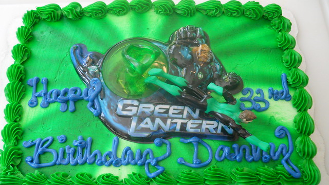 Green Lantern Cake Decorating Kit : The Green Lantern cake Flickr - Photo Sharing!