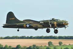 airliner(0.0), boeing c-97 stratofreighter(0.0), aviation(1.0), military aircraft(1.0), airplane(1.0), propeller driven aircraft(1.0), vehicle(1.0), boeing b-17 flying fortress(1.0), air force(1.0),