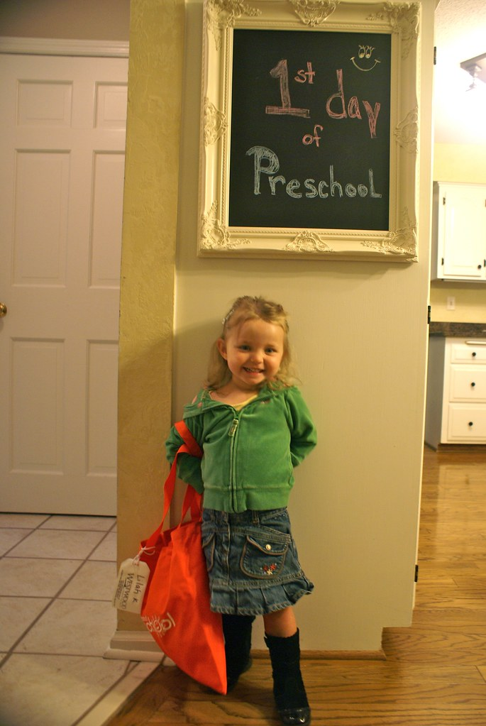 Lilah's 1st Day of Preschool