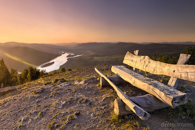 The right place for viewing a sunset