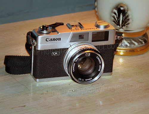 Cult Camera - Canon QL17 Rangefinder by Michael Raso - Film Photography Podcast