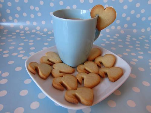 galletas para taza- corazones