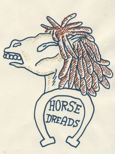 Horse Dreads Tattoo by willlaren