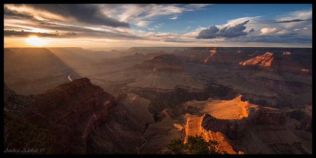Hopi Point sunset - Grand Canyon