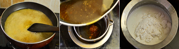 How to make paal kozhukattai - Step1