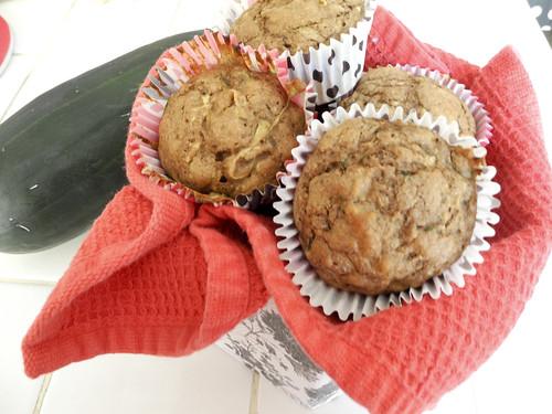 Skinny Zucchini Muffins