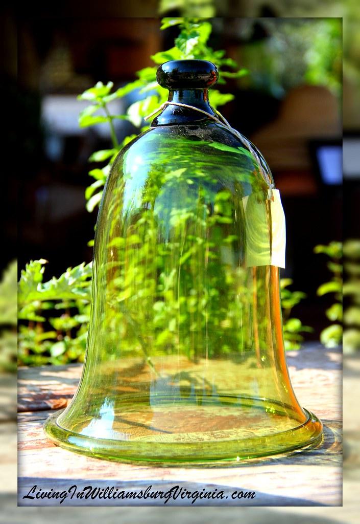 Green bell jar