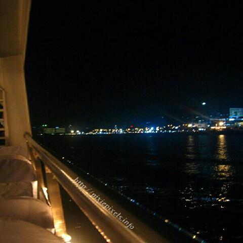 Manila Bay from a yacht