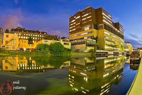 London Night Reflection by david gutierrez [ www.davidgutierrez.co.uk ]