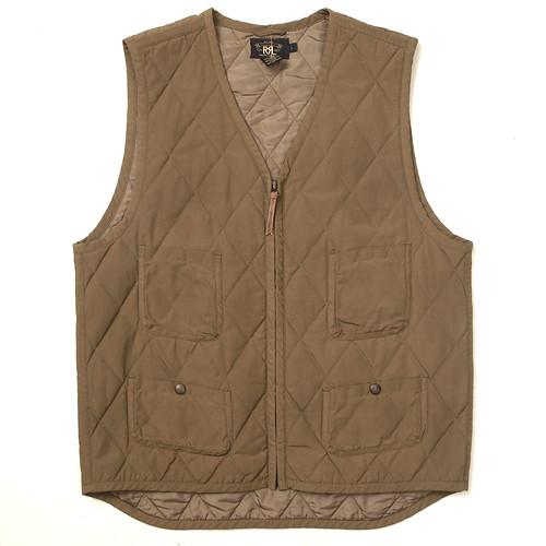 RRL / Quilting Vest