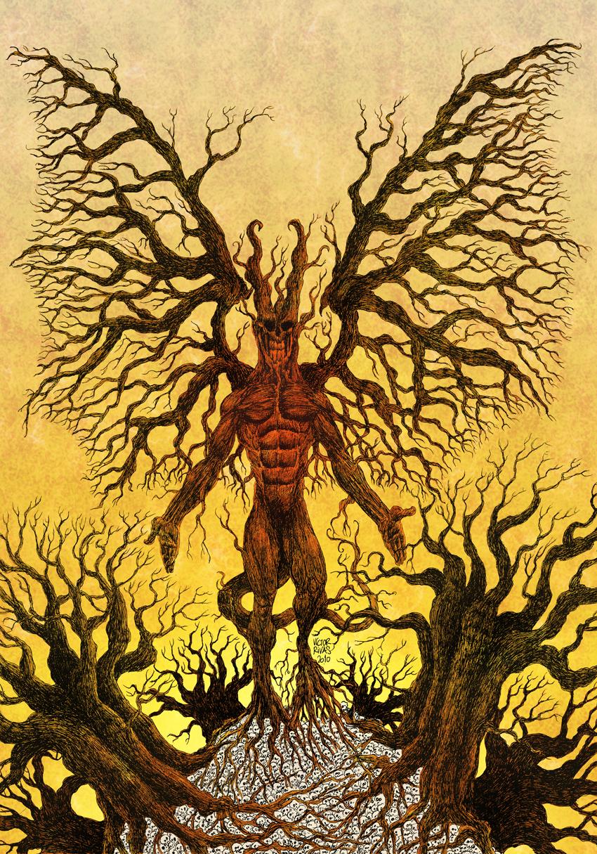 Victor Rivas - Evil Wood