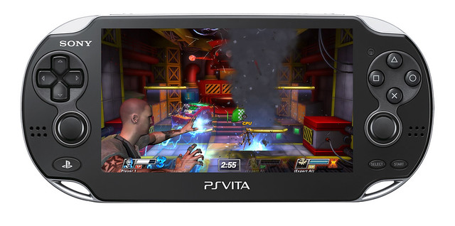 PlayStation All-Stars Battle Royale on PS Vita