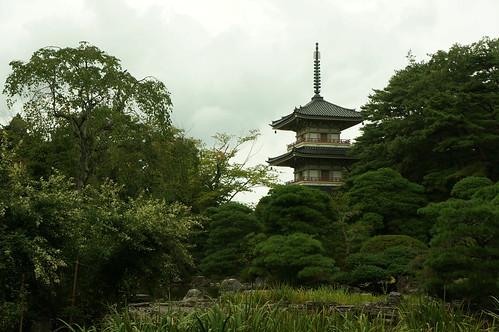 輪王寺(三重の塔)