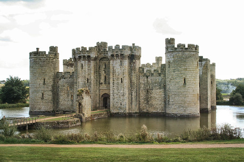 Bodiam Castle, front entrance