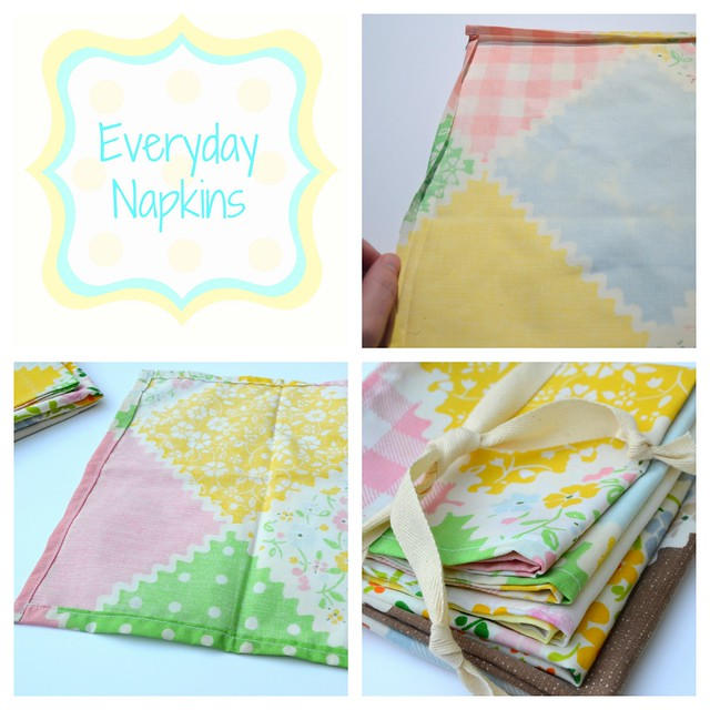 Everyday Napkins Collage