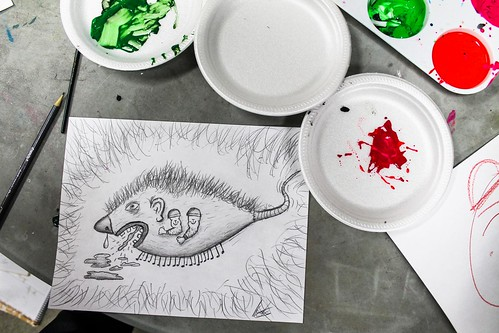 Drawing by/Dessin par Alexandre Claude
