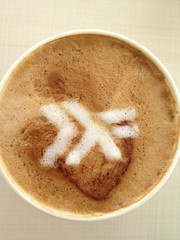Today's latte, Haskell.