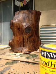 min waxed stump