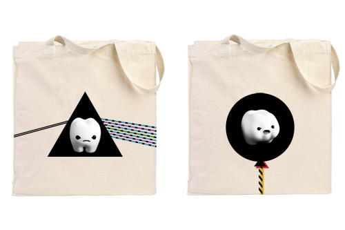 ickle & Lardee Tote bag Prototypes